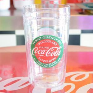 コカコーラ Coca-Cola ダブルウォールタンブラー サースト(24oz/709ml) アメリカ製 *メール便不可|wappenstore