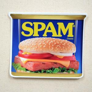 ステッカー/シール スパム SPAM 缶 US001|wappenstore