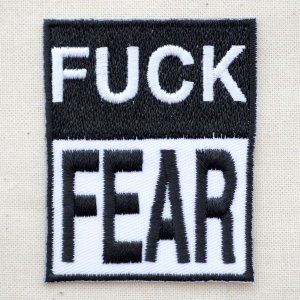 ワッペン ファックフィア Fuck Fear W247|wappenstore