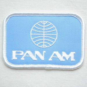 ロゴワッペン パンアメリカン航空 パンナム PANAM(スクエア) WA0001|wappenstore