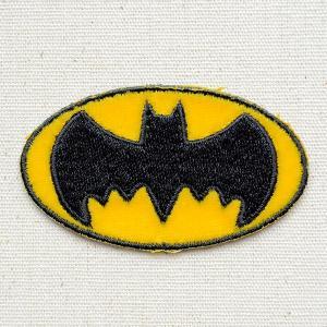 ワッペン バットマン Batman(ロゴ) 名前 作り方 WBBT33|wappenstore