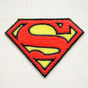 ワッペン スーパーマン Superman(ロゴ) 名前 作り方 WBSP34|wappenstore