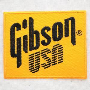 ロゴワッペン ギブソン Gibson USA ギター 音楽 楽器 wappenstore