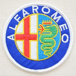 ロゴワッペン アルファロメオ Alfa Romeo 自動車 エンブレム WD0028