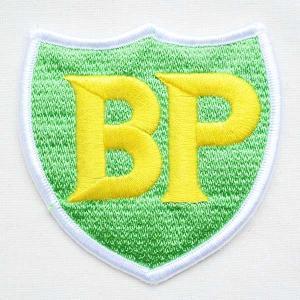 ロゴワッペン BP オイル(エンブレム)|wappenstore