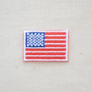 ミニワッペン アメリカ国旗 星条旗(SSサイズ)|wappenstore