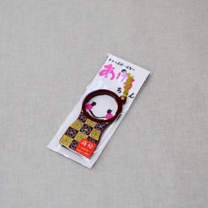 会津塗 あけるちゃん 市松桜 赤 (ペットボトルキャップ開け)|warabi