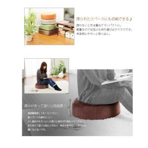 日本製モダンクッション【送料無料】シンプル クッション「SWEETS」4カラー×2タイプ【安心の日本製】単品|waraku-neiro|05