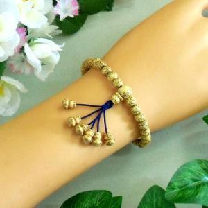 郵便発送可|腕輪数珠◆星月菩提樹 無病念珠◆無病息災|waraku-store