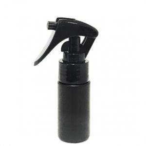ミニトリガースプレー 30mL PE 遮光黒 ストレートボトル【ブラックトリガー】*スライドロック