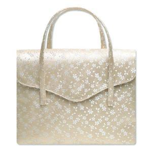 西陣織金襴オリジナル和装バッグ「横長被せ」mj97|wasai-kobo