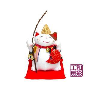 和ぐるみ福猫「恵比寿 招き猫」|wasai-kobo