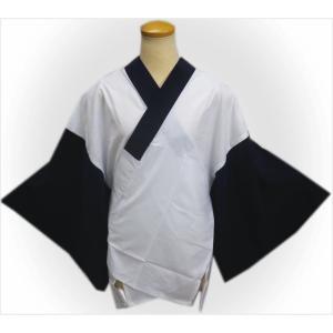 半襦袢 メンズ 男物 男性 洗える 濃紺 M L LL 日本製