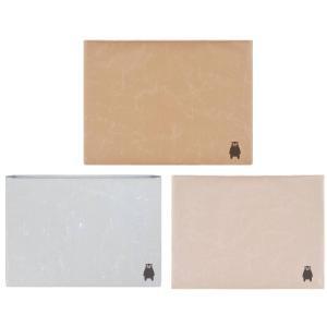 C-WASAMON タブレットケース グレー 灰色 ブラウン 茶色 ダークピンク 桃色 くまモン 和紙 丈夫 軽い エコ ギフト パソコン iPad Pro ケース ノートパソコン|wasamon