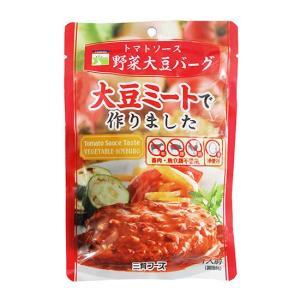 トマトソース野菜大豆バーグ|waseda