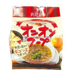 オニオンスープ(5食入り)|waseda