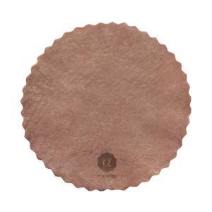 アコラップ 丸型 泥色(大島紬伝統の泥染め)Sサイズ|waseda