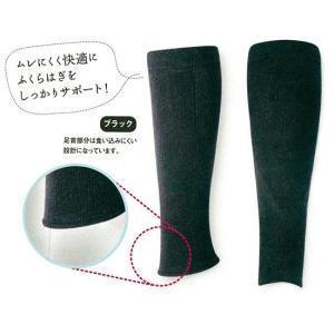 あしサポ加圧効果サポーター(ブラック)M〜L|waseda