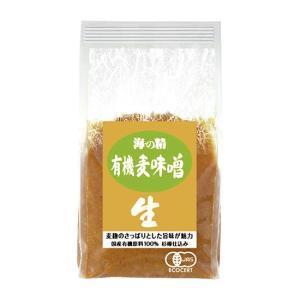 海の精 国産有機 麦味噌 waseda
