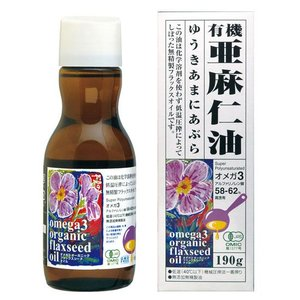 ◇αリノレン酸(オメガ3)約58〜62%含有 ◇そのまま飲むほか、加熱をしない料理に  コールドプレ...