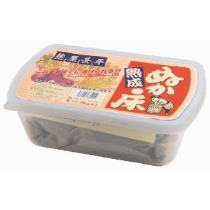 麹屋甚平熟成ぬか床2kg(容器付)|waseda