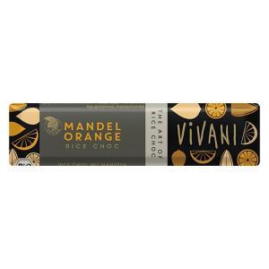 ViVANI(ヴィヴァーニ) オーガニックライスミルクチョコレートバーアーモンドオレンジ|waseda