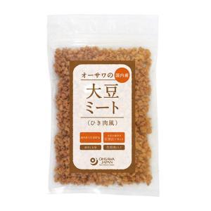 オーサワの国内産大豆ミート(ひき肉風) waseda