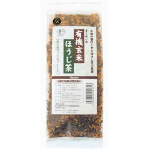 オーサワ 有機玄米ほうじ茶|waseda