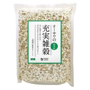 オーサワの充実雑穀(国内産)1kg|waseda