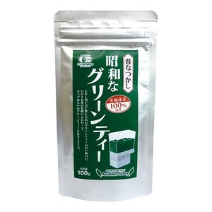 昔なつかし昭和なグリーンティー|waseda