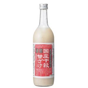 国産十穀甘ざけ|waseda