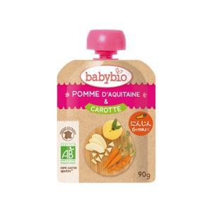 baby bio(ベビービオ)有機ベビースムージー アップル・キャロット|waseda