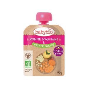 baby bio(ベビービオ)有機ベビースムージー アップル・スイートポテト|waseda