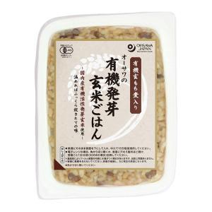 オーサワの有機発芽玄米ごはん(玄もち麦入り)|waseda