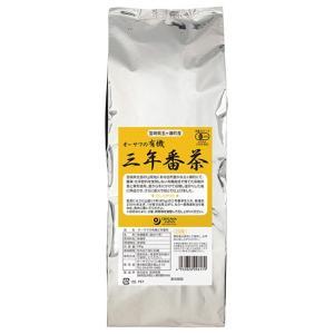 オーサワの有機三年番茶500g|waseda