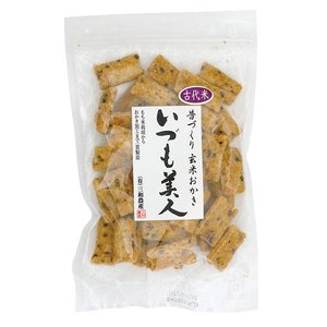 古代米入り玄米おかき(いづも美人)|waseda