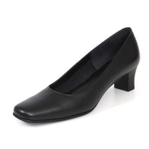 リーガル 靴 パンプス レディース F75L ブラック 黒 ローヒール 本革 フォーマル 仕事 オフィス ビジネス|Parade ワシントン靴店