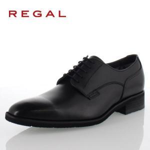 リーガル REGAL 靴 メンズ ビジネスシューズ 34HRBB ブラック プレーントゥ 外羽根式 ...