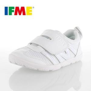 IFME イフミー 定番 内履き ベルクロタイプ SC-0005 スクールシューズ 白 ホワイト キッズ ジュニア 子供靴|washington