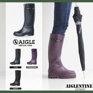 AIGLE エーグル エーグランティーヌ レディース レインブーツ 長靴 ロング 8587 AIGLENTINE ラバーブーツ|washington