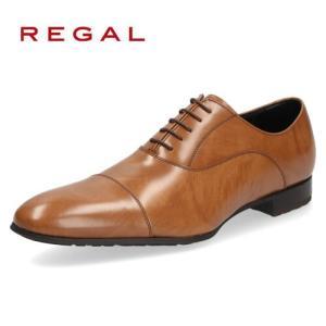 リーガル REGAL 靴 メンズ ビジネスシューズ 011R AL ブラウン ストレートチップ 内羽...