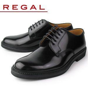リーガル REGAL 靴 メンズ ビジネスシューズ JU13 AG ブラック プレーントゥ 外羽根式...