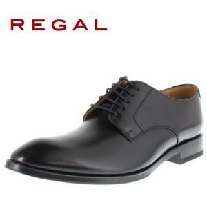 リーガル REGAL 靴 メンズ ビジネスシューズ 810R AL ブラック プレーントゥ 外羽根式...