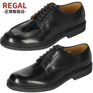 リーガル REGAL 靴 メンズ ビジネスシューズ JU15 AG ブラック Uチップ 外羽根式 紳...