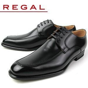 リーガル REGAL 靴 メンズ ビジネスシューズ 124R AL ブラック Uチップ 外羽根式 紳士靴 日本製 2E 本革 特典B|washington
