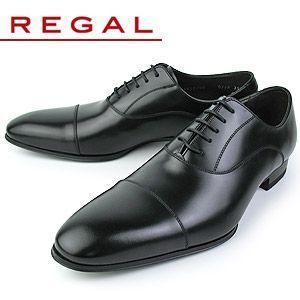 リーガル REGAL 靴 メンズ ビジネスシューズ 011R AL  ブラック ストレートチップ 内...
