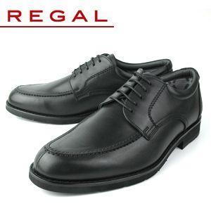 リーガル 靴 メンズ ビジネスシューズ Uチップ 撥水加工 REGAL 623R AL ブラック 紳...