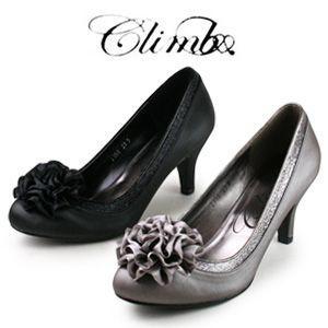 Climb  クライム 2358 パンプス コサージュ 結婚式 パーティー 靴 お呼ばれ ヒール|washington