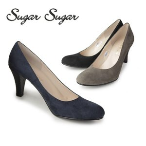 Sugar Sugar シュガーシュガー 990 スエード カラー ラウンドトゥ パンプス washington