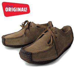 クラークス ナタリー レディース 靴 Clarks NATALIE 652-OAKS オーク カジュアルシューズ スエード 正規品|washington